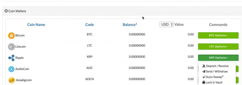 XPP wallet better than Coinpayment