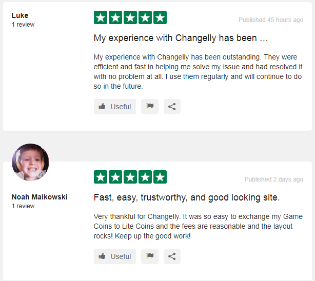 changelly users review