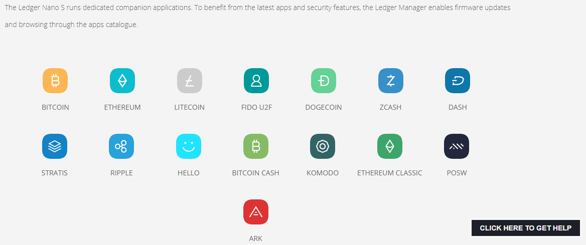 ledger nano currency