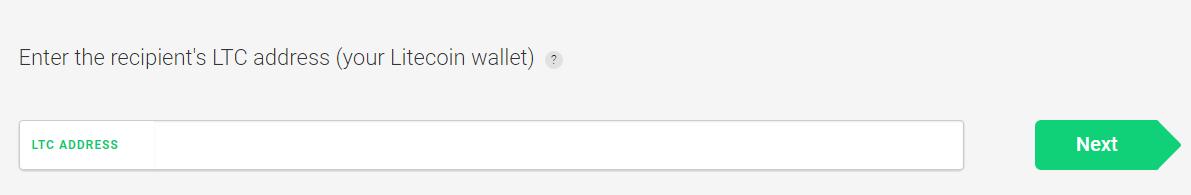 litecoin address ledger